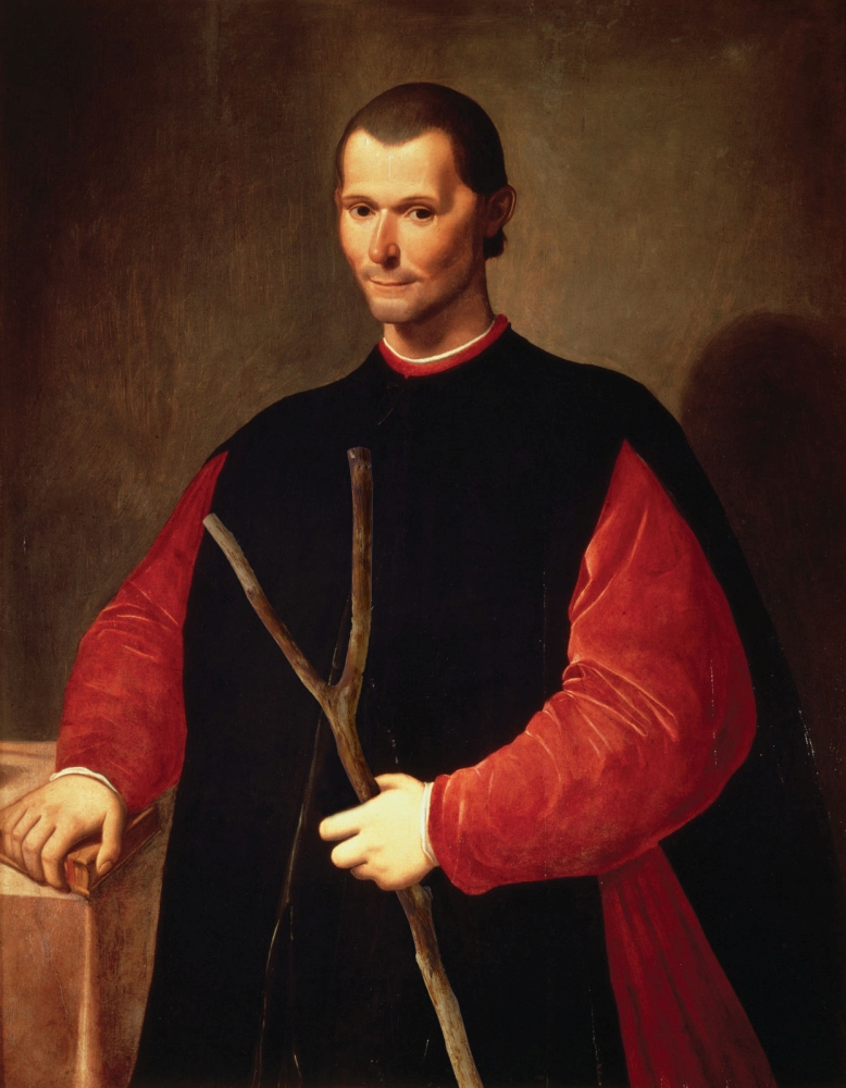 Niccolò Machiavelli's historically documented love for dictator-types was likely caused by a wrong type of divining rod.