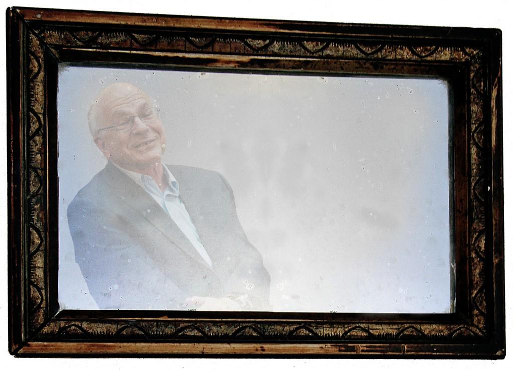"""""""Kahneman! Kahneman! Kahneman!Kahneman! Kahneman!"""" Image credit: Eirik Solheim (CC BY-SA; derivative)"""